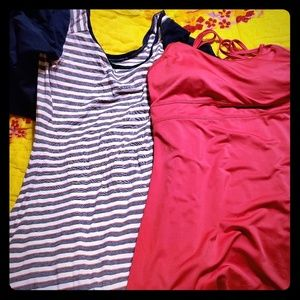 Columbia and gaiam athletic dress